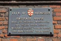 Eastgate House in Rochester, UK Royalty Free Stock Photography