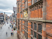 Eastgate street in Chester, England Royalty Free Stock Photos