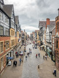 Eastgate street in Chester, England Stock Photo