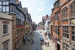 Eastgate Street,Chester Royalty Free Stock Image