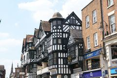 Eastgate Street,Chester Royalty Free Stock Images