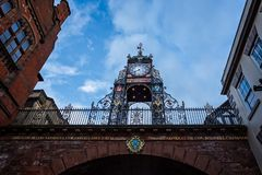 Eastgateklok in Chester royalty-vrije stock fotografie