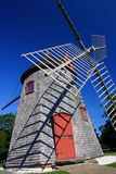 Eastham风车鳕鱼角,马萨诸塞,美国 免版税库存图片