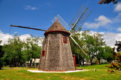 Eastham,MA: 1680 Eastham Windmill Royalty Free Stock Photos
