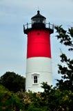Eastham, MA: Nauset-Strand-Leuchtturm 1838 Stockfotografie
