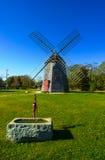 Eastham väderkvarn, Eastham, Cape Cod, MOR Arkivfoto