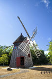 Eastham Windmill. In historic Eastham, Massachusetts, was built in 1680 by Thomas Paine Royalty Free Stock Image