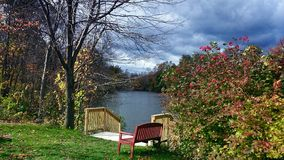 Easthampton in fall. Was taken in Easthampton Royalty Free Stock Image