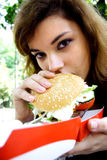Easting fast food Royalty Free Stock Photo