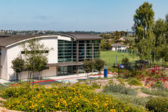 Easton Archery Center para a construção da excelência para o atleta de elite Training imagens de stock royalty free