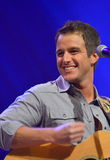 Easton Corbin at the Grand Ole Opry Stock Image