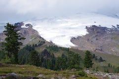 Easton Glacier del Mt panadero Imagen de archivo