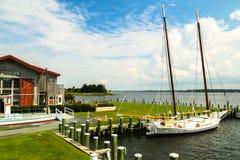 Easton Harbor Fotografering för Bildbyråer