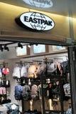 Eastpak商店 库存图片