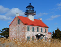 Eastpoint lighthouse in south jersey Royalty Free Stock Photography