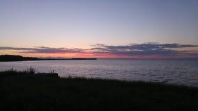 Eastsee захода солнца Стоковое Изображение RF