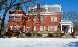 Eastside Ellwood Mansion Stock Photography
