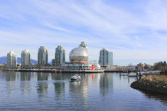Eastside of False Creek Royalty Free Stock Image