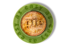 Easy As Pie Royalty Free Stock Photo