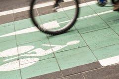 Easy biking Stock Photo