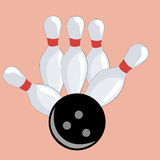 Easy bowling Stock Photo