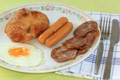 Easy breakfast Royalty Free Stock Photography