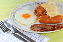 Easy breakfast Stock Image