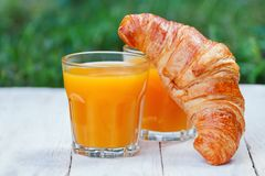 Easy breakfast Stock Photography