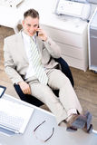 Easy businessman Stock Photo
