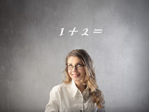 Easy calculation Royalty Free Stock Photography