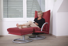 Easy chair Royalty Free Stock Photo