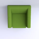 Easy chair in corner of the room. Royalty Free Stock Photos