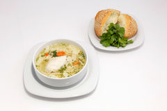 Easy chicken soup Royalty Free Stock Images