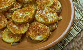 Parmesan Garlic Roasted Baby Potatoes Royalty Free Stock Photo
