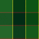 Easy Editable Green Checkered Plaid Vector Pattern Royalty Free Stock Photo