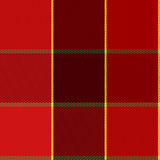 Easy Editable Red Checkered Plaid Vector Pattern Royalty Free Stock Photo
