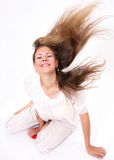 Easy hair Stock Photography