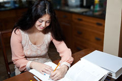Easy Homework Royalty Free Stock Photo