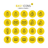 Easy icons 08c Money Royalty Free Stock Image