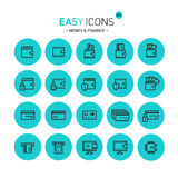 Easy icons 09c Money Stock Photography