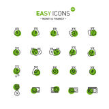 Easy icons 08d Money Stock Images