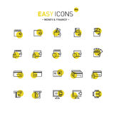 Easy icons 09d Money Stock Image