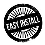 Easy install stamp Royalty Free Stock Images