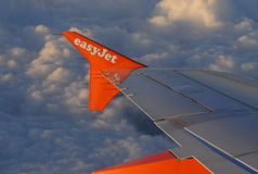 Easy jet Stock Image