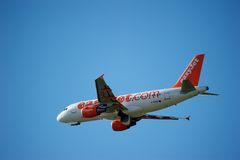 Easy Jet Newcastle 3 Royalty Free Stock Photo