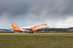 Easy Jet plane Royalty Free Stock Photo