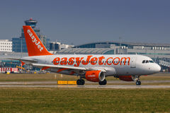 Easy jet Royalty Free Stock Images