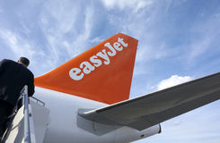Easy Jet Travel Stock Photo