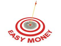 Easy money concept. In 3D Royalty Free Stock Image