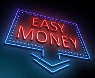 Easy money concept. Stock Photography
